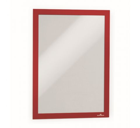 DURABLE A4 DURAFRAME MAGNETIC - RED - 4872-03