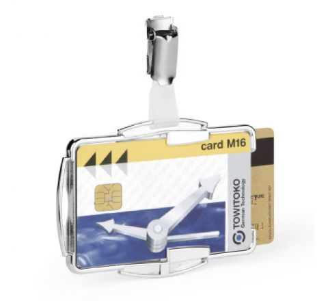 8902-23 DURABLE CARD HOLDER RFID SECURE DUO