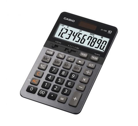 CASIO JS-10B CALCULATOR, 10 DIGITS DISPLAY