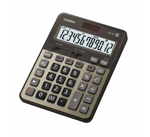 CASIO DS-2TS/DS-2B HEAVY DUTY CALCULATOR, 12 DIGITS