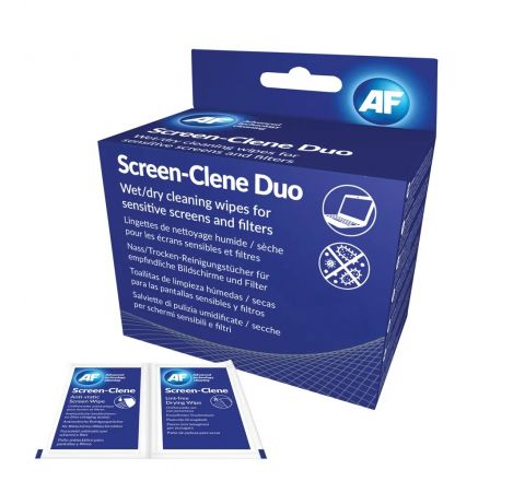 AF SATCHETS FOR SCREEN CLEAN 25PIECES PER PACK
