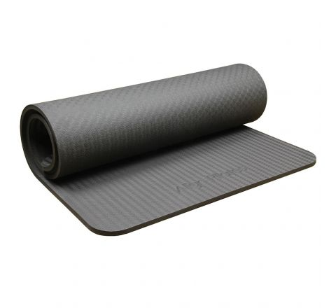 Align Pilates Studio Mat  10Mm, Graphite, Without Eyelets