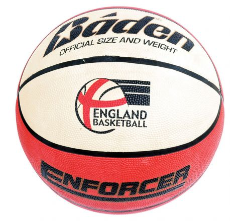 Baden Enforcer Basketball  Size 5, Tan/Cream