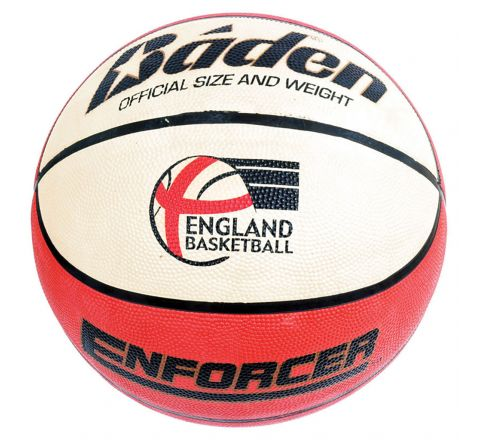 Baden Enforcer Basketball  Size 6, Tan/Cream