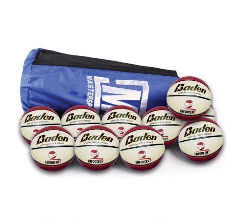 Baden Enforcer Basketball  Size 7, Bag Of 10