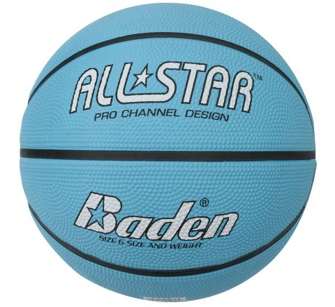 Baden All Star Basketball  Size 6, Blue