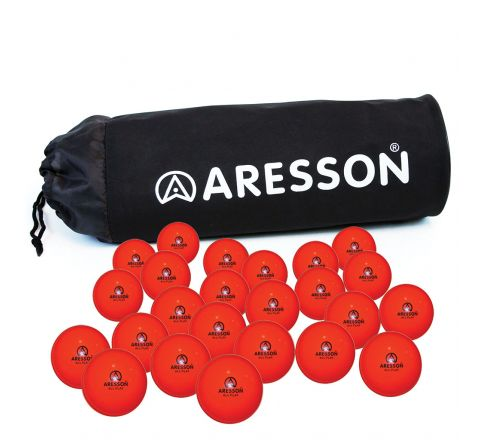Aresson All Play Cricket Ball  Orange, Junior, Bag Of 24
