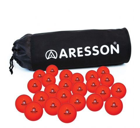 Aresson All Play Cricket Ball  Orange, Senior, Bag Of 24