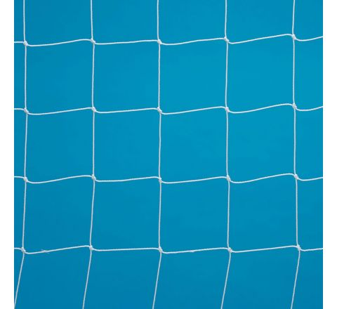 5-A-Side Football Goal Net 0.4-1.2M Runback White Fx5B, 3.0Mm, 2.44 X 1.22M, Pair