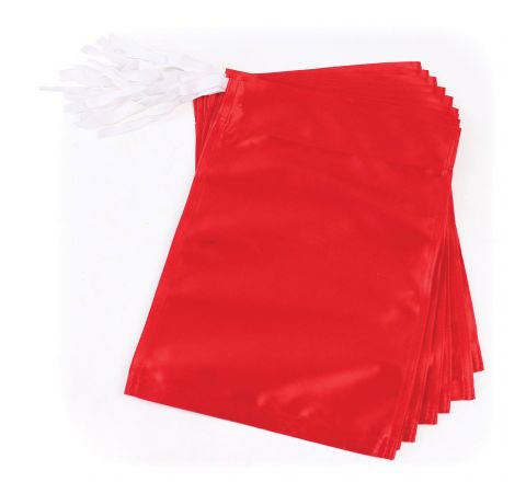 Golf Flag  Polyester, Red, Set Of 9