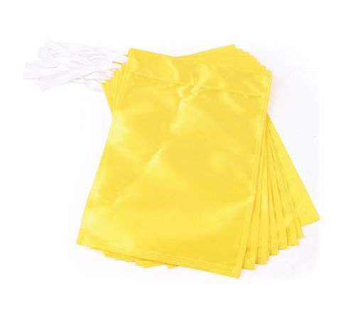 Golf Flag  Polyester, Yellow, Set Of 9