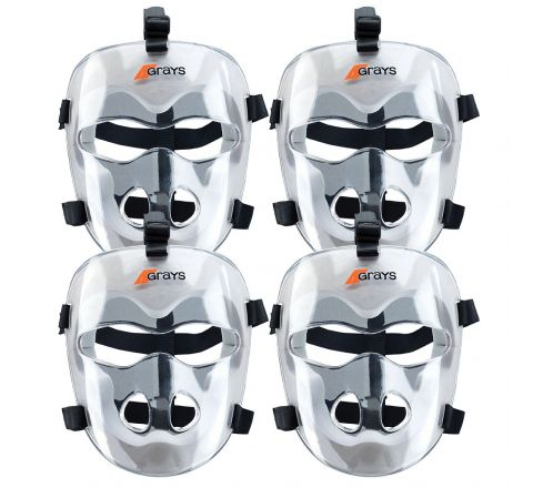 Grays Hockey Face Mask  Senior, Set Of 4
