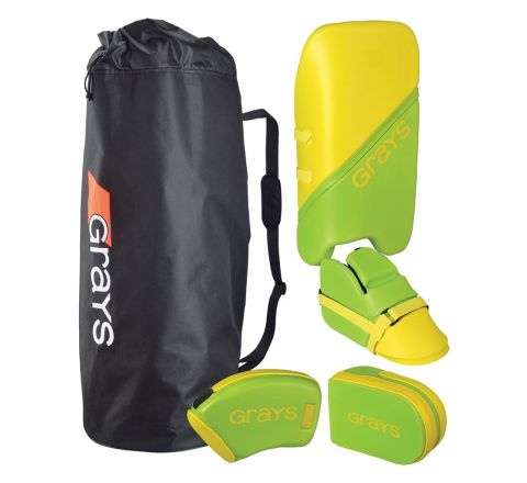 Grays Hockey G100 Junior Goalie Set  Lime / Neon Yellow