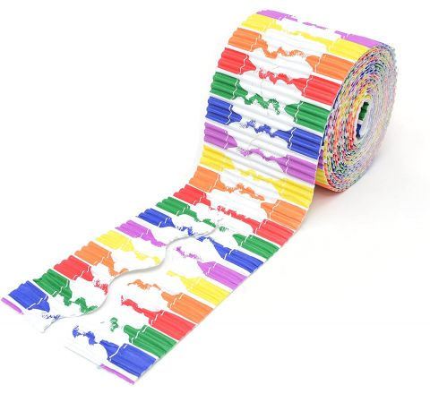 Bordette Designs Border Roll - Crayons, 57Mm X 7.5M