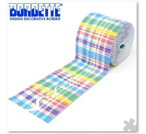 Bordette Designs Border Roll - Plaid, 57Mm X 7.5M