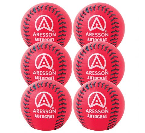 Aresson Autocrat Rounders Ball  Pink, Set Of 6