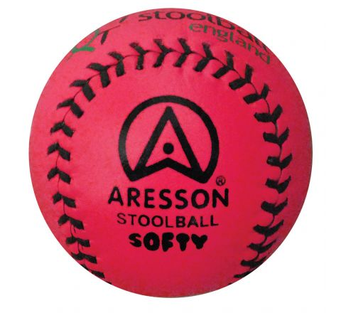 Aresson Softy Indoor Stoolball Ball  Pink