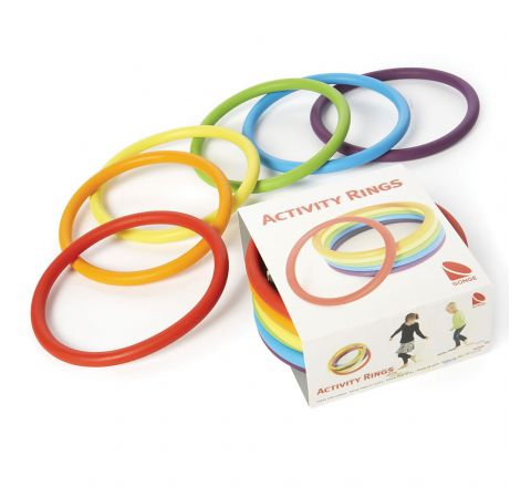 Activity Ring  Set Of 6