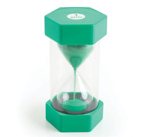 Sand Timer  1 Minute, Green